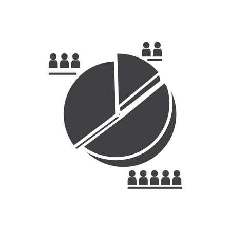 Ilustración de pie chart - Imagen libre de derechos