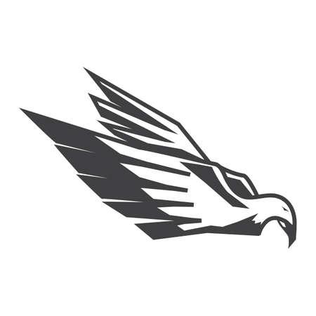 Illustration for Eagle icon - Royalty Free Image