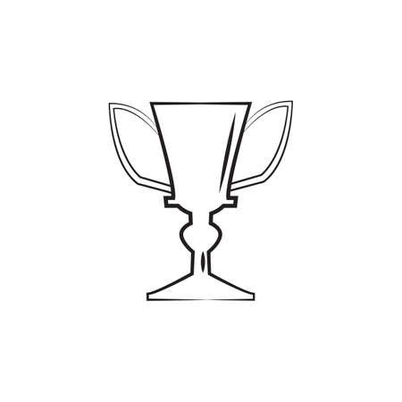 Ilustración de trophy - Imagen libre de derechos