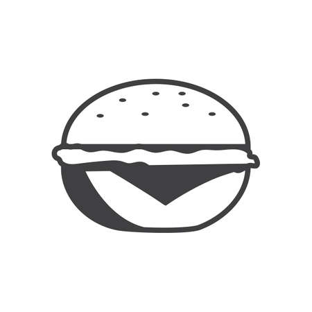 Illustration for Hamburger icon - Royalty Free Image
