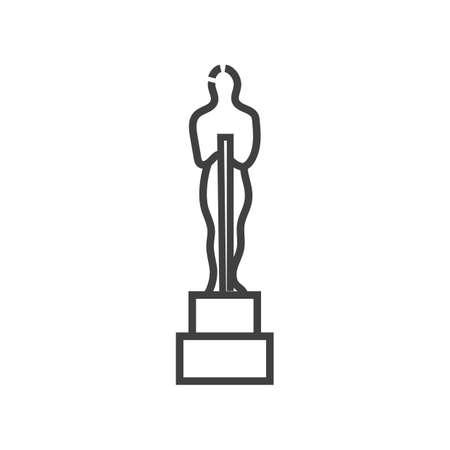 Illustration for Award icon - Royalty Free Image