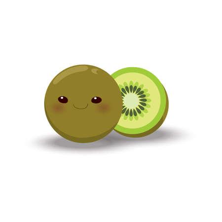 Ilustración de Kiwi fruit - Imagen libre de derechos