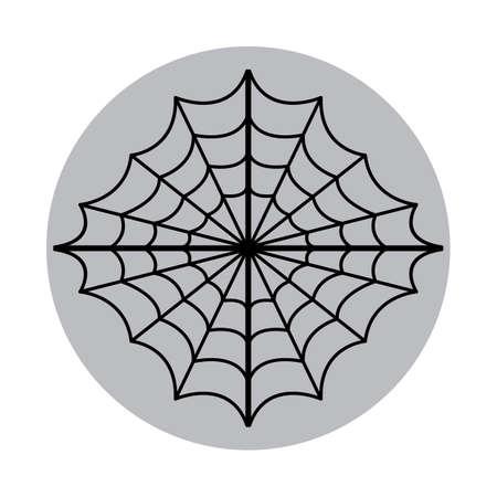 Illustration pour spider web - image libre de droit
