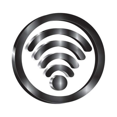 Illustration pour wifi icons - image libre de droit