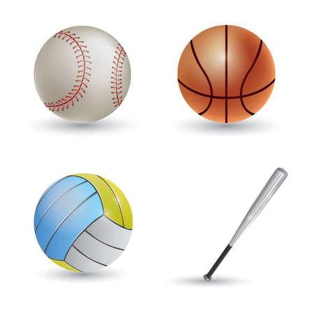 Ilustración de sports collection - Imagen libre de derechos