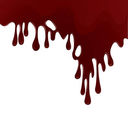 Ilustración de dripping blood background - Imagen libre de derechos