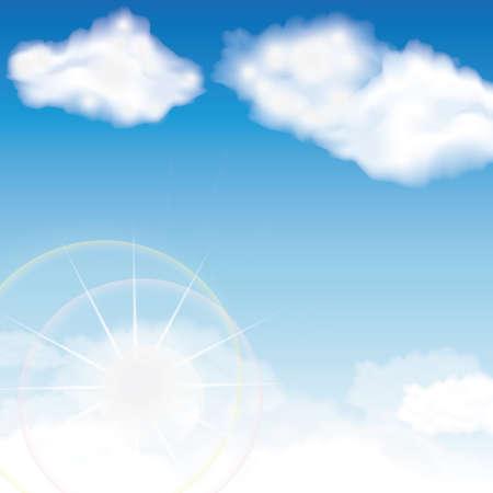 Illustration pour sky background - image libre de droit