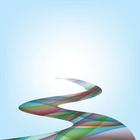 Illustration pour abstract vibrant background - image libre de droit