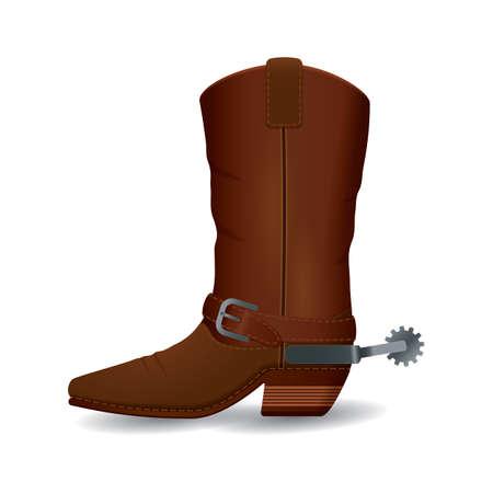 Ilustración de boot - Imagen libre de derechos