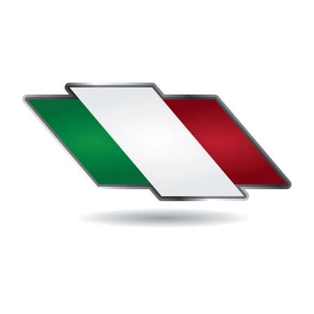 Ilustración de italy flag - Imagen libre de derechos