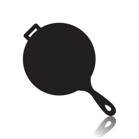 Illustration pour frying pan - image libre de droit
