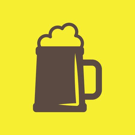 Ilustración de Beer mug - Imagen libre de derechos