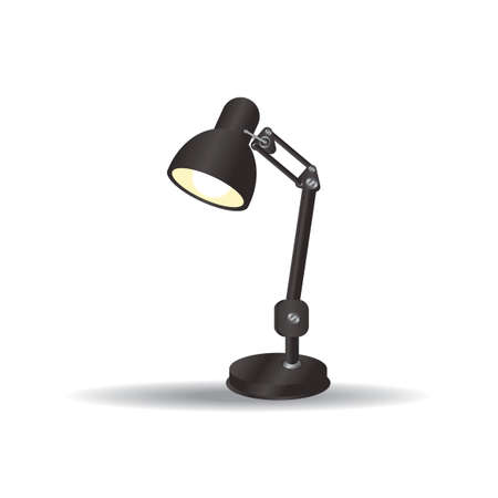 Illustrazione per desk lamp - Immagini Royalty Free