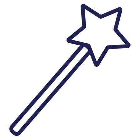 Ilustración de angel magic wand - Imagen libre de derechos