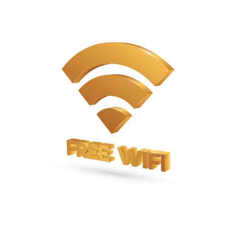 Illustration pour wifi symbol - image libre de droit