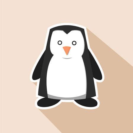 Illustration pour Penguin - image libre de droit