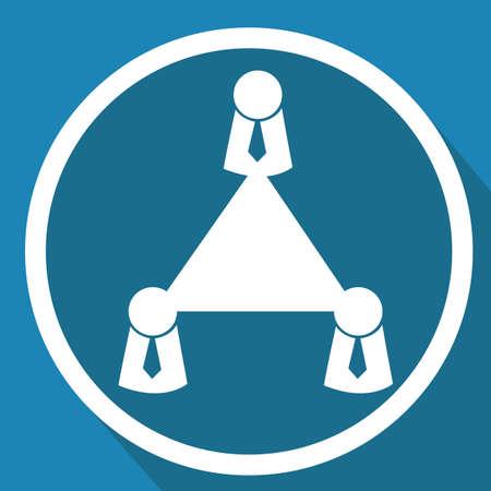 Illustration pour business communication group - image libre de droit