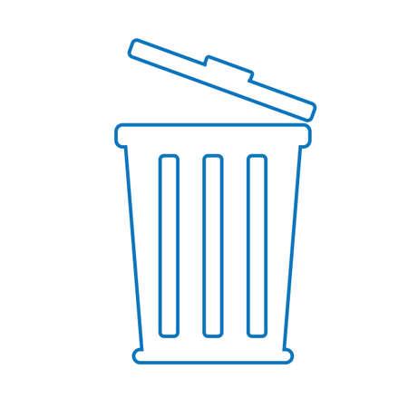 Ilustración de trash can - Imagen libre de derechos