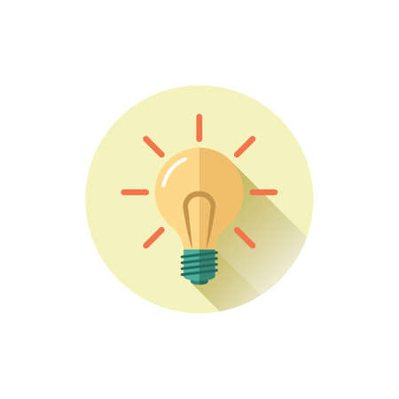 Illustration pour Light bulb illustration. - image libre de droit