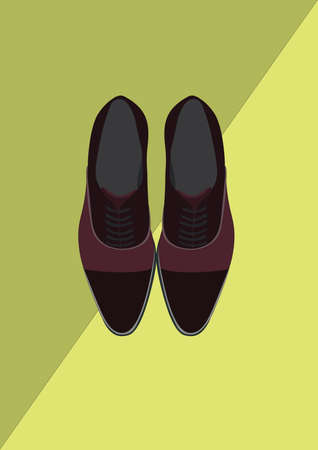 Illustration for shoes - Royalty Free Image