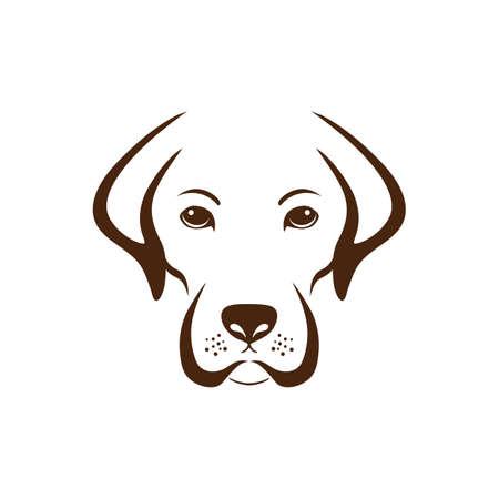 Ilustración de Simple dog design. - Imagen libre de derechos