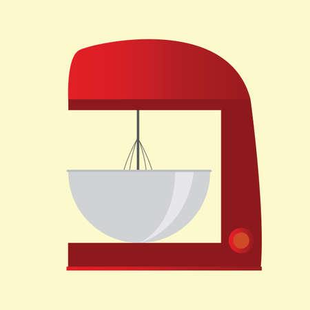 Illustration pour cake mixer - image libre de droit