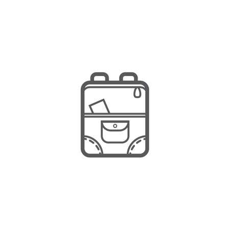 Illustration pour Backpack - image libre de droit