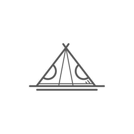 Ilustración de tipi - Imagen libre de derechos