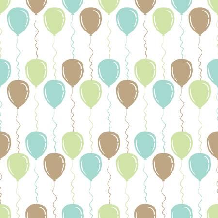 Illustration pour balloons background design - image libre de droit