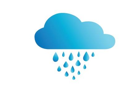 Icon rainy weather