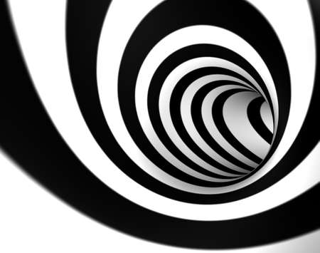 3D image background with swirl or tunnel