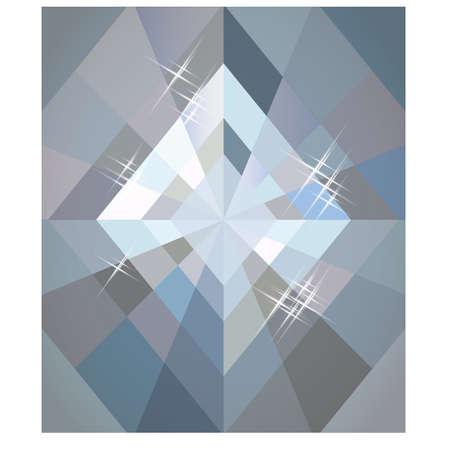 Ilustración de Diamonds poker wallpaper, vector illustration - Imagen libre de derechos