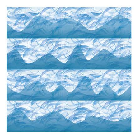 Ilustración de See pattern, vector illustration - Imagen libre de derechos