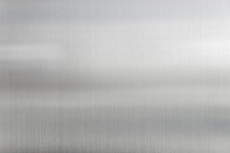 Photo pour texture metal background of brushed steel plate. - image libre de droit