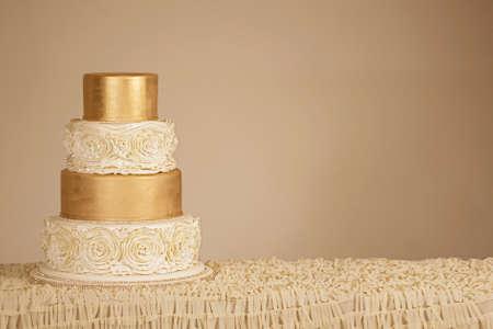 Photo pour Wedding Cake - image libre de droit