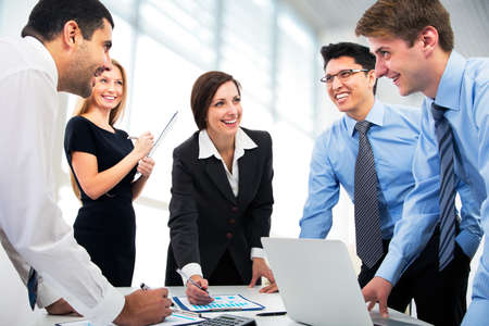 Foto de Business people working together - Imagen libre de derechos