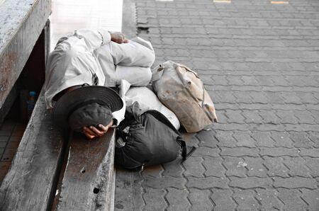 Foto de homeless - Imagen libre de derechos