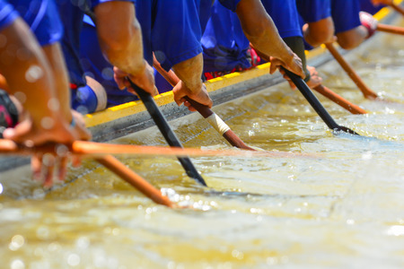 Photo for rowing team race - Royalty Free Image