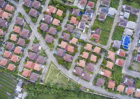 Photo for Aerial view of village - Royalty Free Image