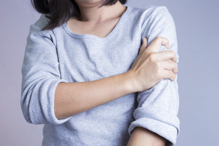 Photo for Woman Arm Ache - Royalty Free Image