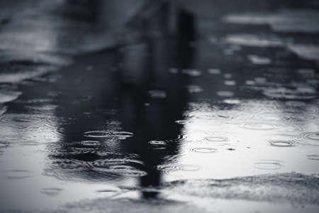 Rainy weather, Prague
