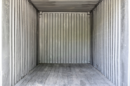 Foto de Old interior container box - Imagen libre de derechos
