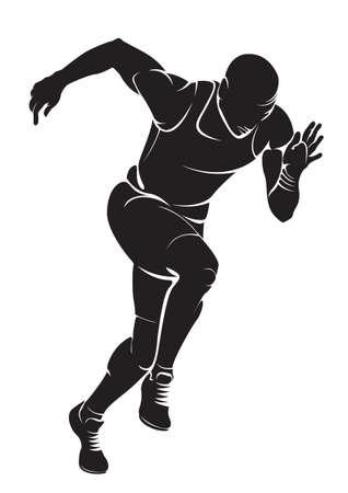 Ilustración de Runner - Imagen libre de derechos
