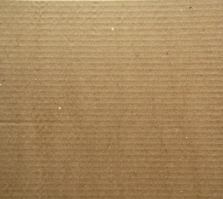 Photo pour Kraft Paper Texture. Brown striped background - image libre de droit