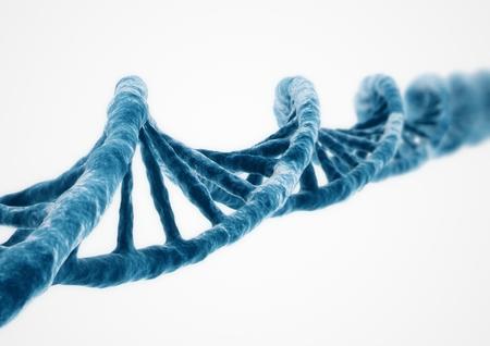 Foto de 3D Rendering DNA strand - Imagen libre de derechos