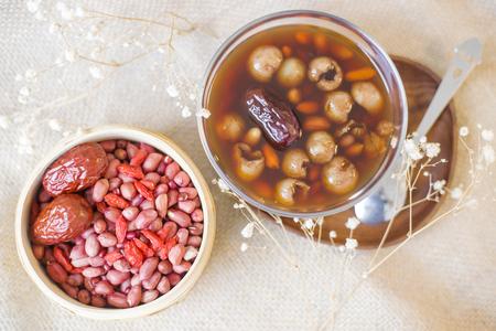 Photo pour chinese dessert soup - image libre de droit