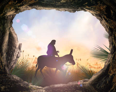 Photo for Palm Sunday concept - Royalty Free Image