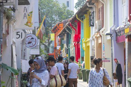 Photo pour Singapore 29 June 2019 : travel in Bugis, Singapore - image libre de droit