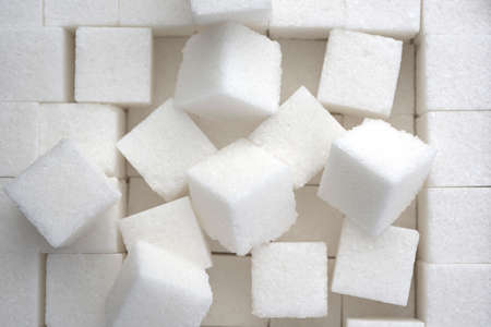 Photo for close up of sugar cubes - Royalty Free Image