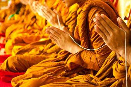 Photo for monks in Buddhism - Royalty Free Image